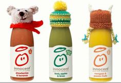U.K.-Based Drink Company Tops Smoothies With Knitted Hats to Raise Money for Elderly : TreeHugger