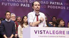 """ASAMBLEA CIUDADANA DE PODEMOS    Iglesias quiere potenciar a Irene Montero en detrimento de Errejón    El líder de Podemos aboga por """"femi..."""