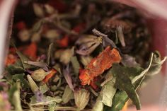 [ DIY: Herbal Tisanes Recipes ] 5 different recipes mixes. Some ingredients include: lavender, yarrow, chamomile, stevia, vanilla bean, cinnamon, cloves, rosemary, marjoram, anise hyssop, rose hips, bergamot, spearmint, sweet woodruff and sage. ~ from Straight from the Farm