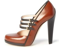 4 #Glamorous Brown Bally High Heels ...