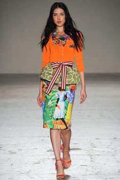 Stella Jean Spring 2015 Ready-to-Wear Fashion Show