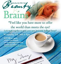 Join Angela at her July Beauty & Brains Workshop LEARN MORE, WATCH VIDEO & REGISTER TODAY...