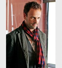 ❦ Jonny Lee Miller, Elementary    Before you dismiss Elementary as a watered-down version of the BBC's Sherlock, watch Miller's portrayal of the extremely intelligent, yet extremely difficult detective. He brings a sharp delivery that is at times witty, playful, and always supercilious. Miller lights up the screen as Sherlock, and exudes an undeniable sexual chemistry with costar Lucy Liu, who plays Watson to his Holmes. —Denise Warner