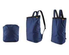 THREE-IN-ONE MULTIPACK | convertible, bookbag, backpack, tote, pouch, lightweight, portable | UncommonGoods