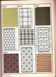 Машинное вязание - жаккард Машинное вязание - жаккард #70