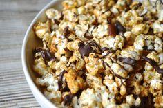 Movie Treats: Ras el Hanout Spiced Popcorn with Chocolate   Always Order Dessert