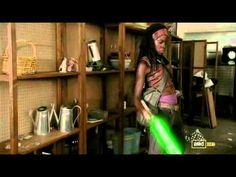 The Walking Dead - Season 3 - Michonne is a Jedi by Scott C.