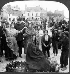 History in Photos: Vintage Ireland. A Jolly group in the market-place, Galway, Ireland, 1902 Ireland Pictures, Images Of Ireland, Dublin Ireland, Ireland Travel, Cork Ireland, Ireland Vacation, Irish Culture, Ireland Culture, Old Irish