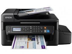 """Multifuncional Epson EcoTank L575 Tanque de Tinta - Colorida LCD 2,2"""" Wi-Fi  de R$ 1.999,00 por R$ 1.490,00   em até 10x de R$ 149,00 sem juros no cartão de crédito  ou R$ 1.415,50 à vista"""