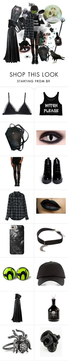 """[POISON]"" by ellietheskull ❤ liked on Polyvore featuring Cosabella, Tripp, Opening Ceremony, Casetify, Gypsy Warrior, Acne Studios, Irit Design and VictoriadeStellaBaptistOC"