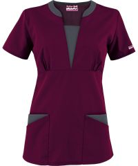 Butter-Soft Scrubs by UA™ Contrast V-Neck Scrub top