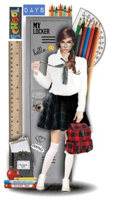 """""""Back to School"""" by tracireuer ❤ liked on Polyvore featuring art"""