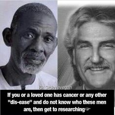 Two healers Dr Sebi and Dr Morse More