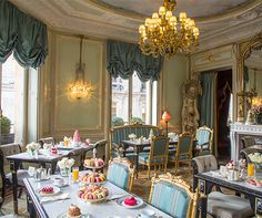 Tea in Paris - While Paris is world renowned for its café culture, it is the salons de thé which have drawn aristocrats and royalty for over a century. Fortunately, many of those luxurious tea rooms remain today while modern proprietors have begun to introduce new ideas in the world of Parisian tea rooms.