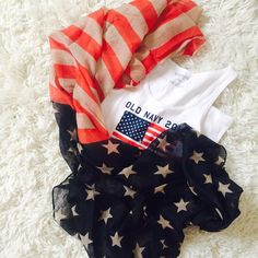 NWT Long Vintage American Flag Scarf! NWT Long (not infinity) Vintage American Flag Scarf! Brand new retail  Really great size, is actually pretty big! tank top for sale in separate listing! Accessories Scarves & Wraps