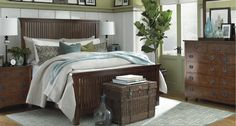 Grove Park bedroom by: Bassett