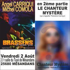 Angel Carriqui   on donne souvent carte blanche aux artistes mais rarement carte bleue