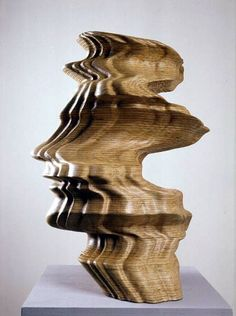 The thought becomes more and more intense until, finally, its... - but does it float - Tony Cragg