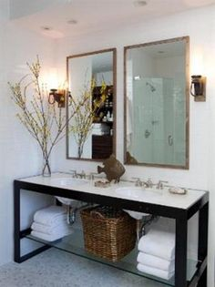 rustic and organic but still modern. love you nate berkus....but I really hate that fish!