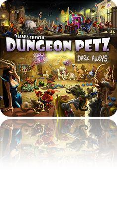 Picture of Dungeon Petz: Dark Alleys [Expansion]