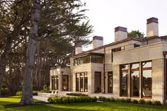 Favorite Pebble Beach home Classic Architecture, Pebble Beach, Coastal Living, Beach House, Exterior, California, Vacation, Mansions, House Styles