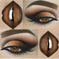 Gorgeous Makeup, Love Makeup, Makeup Tips, Beauty Makeup, Makeup Eye Looks, Smokey Eye Makeup, Eyeshadow Makeup, Eyeshadows, Lipsticks