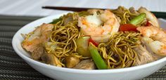 Shrimp and Pork Chow Mein Recipe