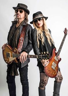 Richie Sambora and Orianthi