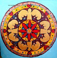mandala z Aniołami  www.mandala-healing.eu