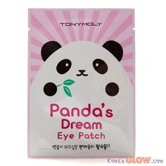 Say goodbye to puffy eyes and dark circles with the Panda's Dream Eye Patch from Tony Moly. The patches are a black, circular cut-out, so you look just like a Panda while your eyes are pampered and so