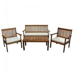 Dedeman Set mobilier pentru gradina 211M THB-AT10050 - Seturi din lemn - Seturi mese si scaune pentru gradina - Mobilier gradina - Gradina - Dedicat planurilor tale