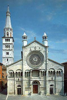 Duomo di Modena (1184) Architettura Romania