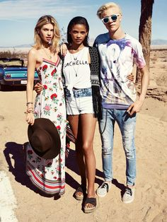 H&M Loves Coachella | H&M NL love the style, especially the dress