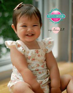 PDF Pattern: Baby Playtime Pinny
