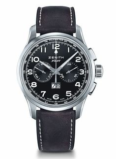 The @zenithwatches  Pilot Big Date Special. #zenithwatches #watchtime #chronograph