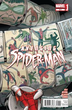 The final fight between Doctor Octopus and Spider-Man! Also on sale today, fan favorite creators Chris Yost and Paco Medina bring you the Superior Spider-Man on a mission that brings his past, present and future colliding together in the must read, AVENGING SPIDER-MAN #15.1!     http://comicstore.marvel.com/new-comics
