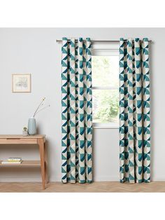 6ff64ffac3d4 BuyJohn Lewis & Partners Maja Pair Lined Eyelet Curtains, W167 x Drop 228cm  Online at
