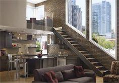 Decoração e Projetos Fachadas de casas modernas com vidros
