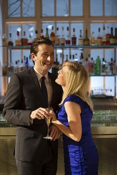 PHOTO OF THE DAY - 2nd July 2015:   David Tennant and Ashley Jensen in The Escape Artist (2013)