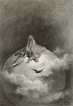 Edgar Allan Poe's 'The Raven' Illustrated by Paul Gustave Doré