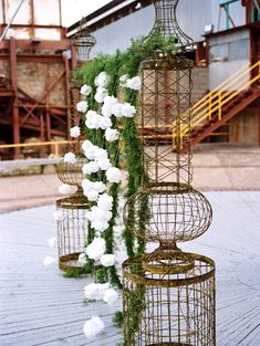 Industrial wedding ideas.  jamie clayton photography