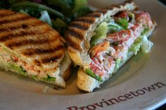 Get this amazing sandwich at the Lobster Pot on Cape Cod (Provincetown, Mass)