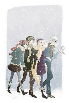 Out in the snow! #ROTBTD