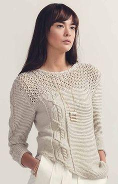 Iclyn1 Домоседка Sweater Knitting Patterns, Cardigan Pattern, Warm Dresses, Garter Stitch, Winter Sweaters, Crochet Clothes, Pulls, Knitwear, Bell Sleeve Top