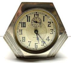 Antiques For Sale, Antique Clocks, Alarm Clock, Art Deco, Ebay, Accessories, Vintage Watches, Projection Alarm Clock, Old Clocks