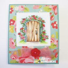Art Impressions Rubber Stamps: Ai Mini TryFolds: 4849 – Celebrate Spring MTF ... handmade card.