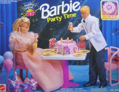 Barbie Birthday Surprise Party Time Playset (1992 Arcotoys, Mattel) by Arcotoys, Mattel. $78.00