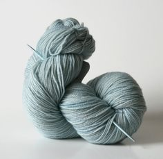 Naturally dyed Hand dyed yarn 100% Super Wash by WrenHouseYarns
