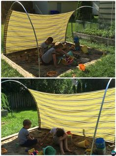 Pvc Canopy, Canopy Outdoor, Outdoor Fun, Small Canopy, Kids Outdoor Play, Garden Canopy, Outdoor Decor, Backyard Playground, Backyard For Kids