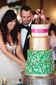Classic Wedding With A Tropical Twist Featured On Midwest Bride